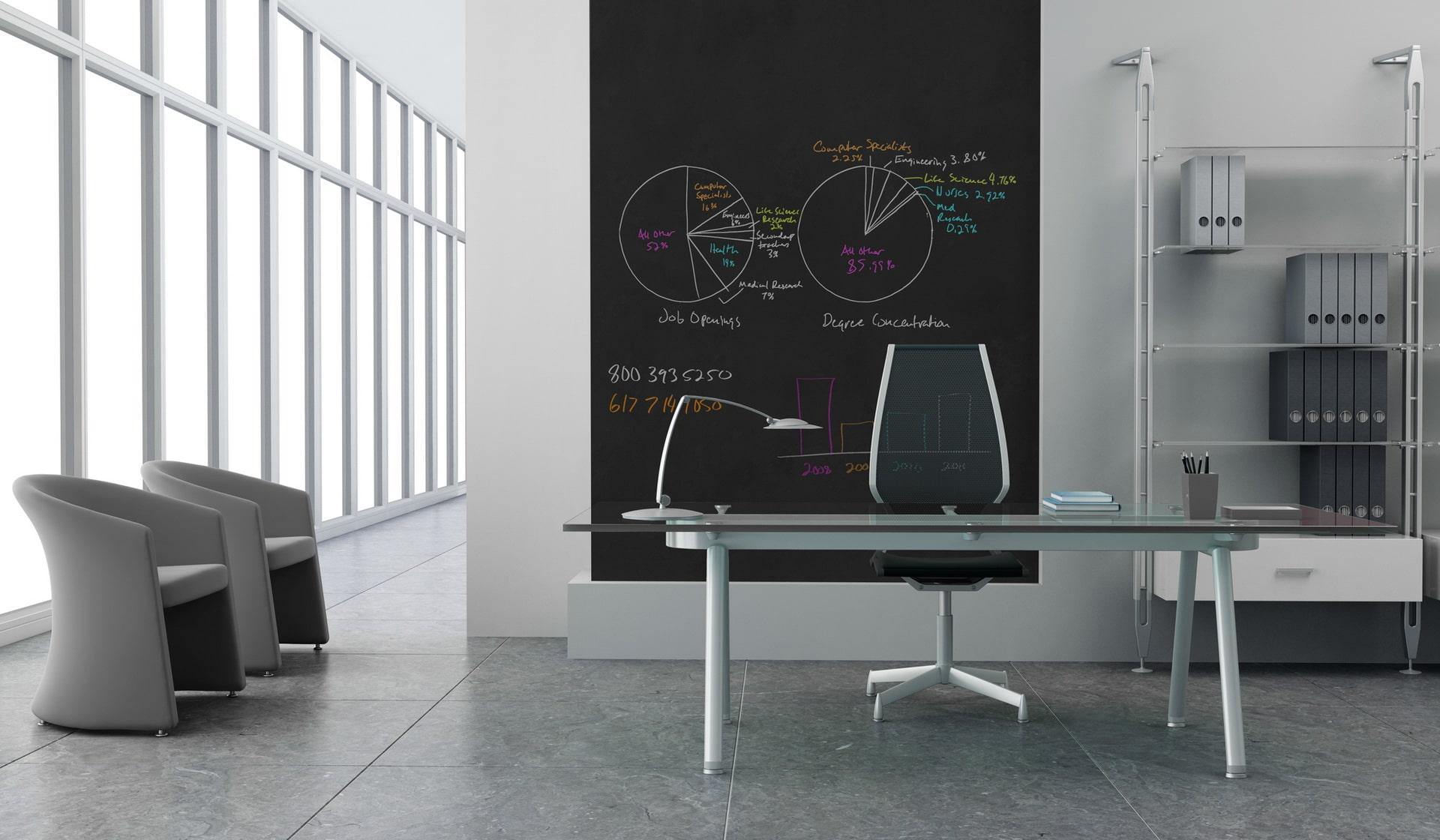 Professionelle whiteboardfarbe von ideapaint f r den einsatz im b ro ideapaint - Small business space paint ...