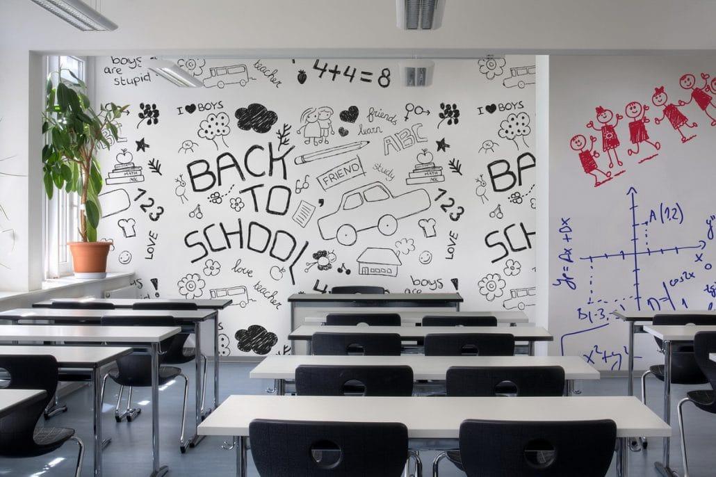 IdeaPaint Schule